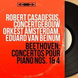 Robert Casadesus, Concertgebouw Orkest Amsterdam, Eduard van Beinum アーティスト写真