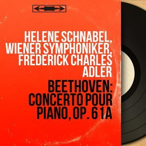 Hélène Schnabel, Wiener Symphoniker, Frederick Charles Adler アーティスト写真