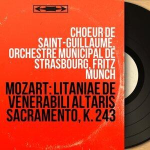 Choeur de Saint-Guillaume, Orchestre municipal de Strasbourg, Fritz Münch 歌手頭像
