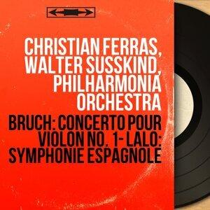 Christian Ferras, Walter Susskind, Philharmonia Orchestra アーティスト写真