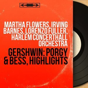 Martha Flowers, Irving Barnes, Lorenzo Fuller, Harlem Concerthall Orchestra アーティスト写真
