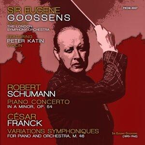 London Symphony Orchestra, Sir Eugene Goossens, Peter Katin アーティスト写真