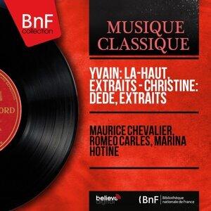 Maurice Chevalier, Roméo Carlès, Marina Hotine 歌手頭像