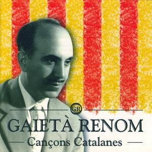Gaietà Renom アーティスト写真