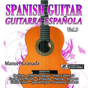 Spanish Guitar, Manuel Granada アーティスト写真
