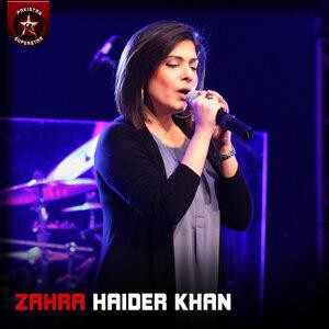 Zahra Haider Khan アーティスト写真