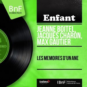 Jeanne Boitel, Jacques Charon, Max Gautier アーティスト写真