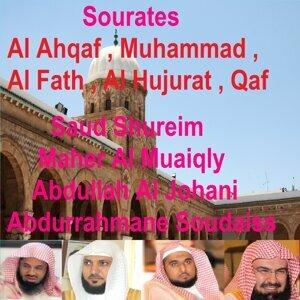 Abdurrahmane Soudaiss, Abdullah Al Johani, Saud Shureim, Maher Al Muaiqly アーティスト写真