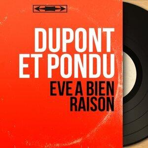 Dupont et Pondu アーティスト写真