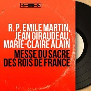 R. P. Émile Martin, Jean Giraudeau, Marie-Claire Alain 歌手頭像