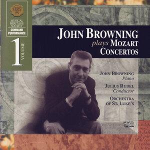 John Browning, Julius Rudel, Orchestra Of St. Luke's 歌手頭像