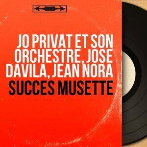 Jo Privat et son orchestre, José Davila, Jean Nora アーティスト写真