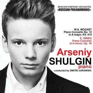 Arseniy Shulgin, Moscow Symphony Orchestra, Dmitri Jurowski アーティスト写真
