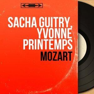 Sacha Guitry, Yvonne Printemps アーティスト写真