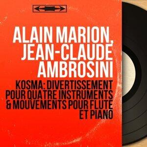Alain Marion, Jean-Claude Ambrosini 歌手頭像