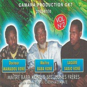 Baba Koné, Mamadou Koné, Lagaré Sadjo Koné 歌手頭像
