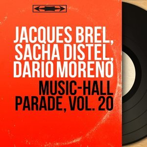Jacques Brel, Sacha Distel, Dario Moreno 歌手頭像