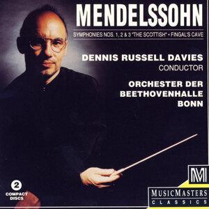 Orchester Der Beethovenhall Bonn, Dennis Russell Davis アーティスト写真