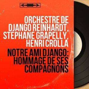 Orchestre de Django Reinhardt, Stéphane Grapelly, Henri Crolla アーティスト写真
