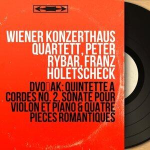 Wiener Konzerthaus Quartett, Peter Rybar, Franz Holetscheck アーティスト写真
