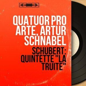 Quatuor Pro Arte, Artur Schnabel アーティスト写真