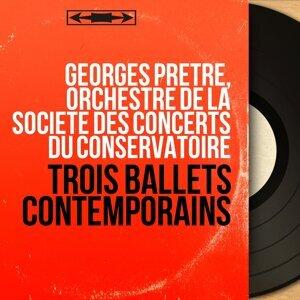 Georges Prêtre, Orchestre de la Société des concerts du Conservatoire アーティスト写真