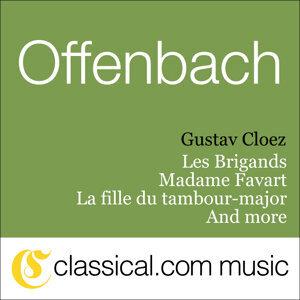 Gustav Cloez, Jacques Offenbach, S. Simon-Girard 歌手頭像