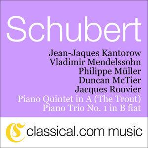 Jean-Jaques Kantorow, Vladimir Mendelssohn, Philippe Müller, Duncan McTier, Jacques Rouvier 歌手頭像