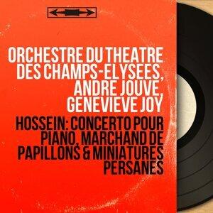 Orchestre du Théâtre des Champs-Elysées, André Jouve, Geneviève Joy アーティスト写真