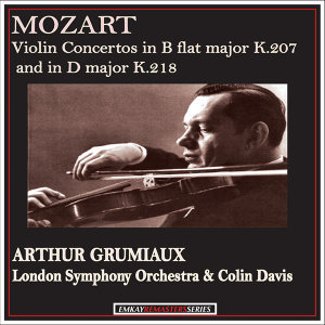 Arthur Grumiaux with Colin Davis and the London Symphony Orchestra アーティスト写真