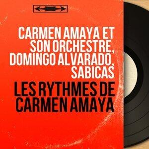 Carmen Amaya et son orchestre, Domingo Alvarado, Sabicas アーティスト写真