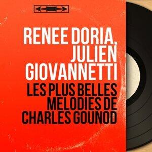 Renée Doria, Julien Giovannetti アーティスト写真