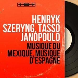 Henryk Szeryng, Tasso Janopoulo 歌手頭像