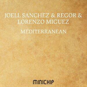Joell Sanchez, Regor, Lorenzo Miguez アーティスト写真