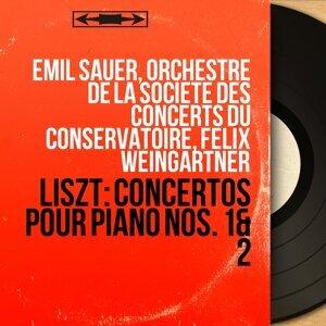 Emil Sauer, Orchestre de la Société des concerts du Conservatoire, Felix Weingartner 歌手頭像