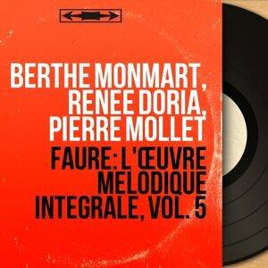 Berthe Monmart, Renée Doria, Pierre Mollet 歌手頭像