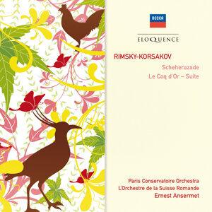 Ernest Ansermet,Paris Conservatoire Orchestra,L'Orchestre de la Suisse Romande 歌手頭像