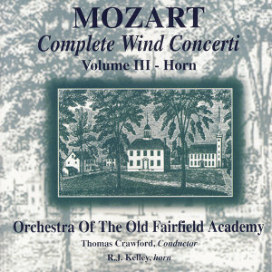 R.J. Kelley, Orchestra Of The Old Fairfield Academy, Thomas Crawford アーティスト写真