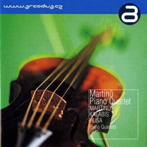 Martinu Piano Quartet アーティスト写真