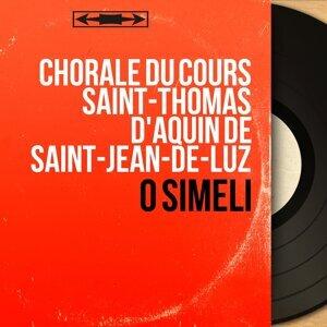 Chorale du cours Saint-Thomas d'Aquin de Saint-Jean-de-Luz 歌手頭像