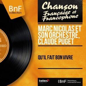 Marc Nicolas et son orchestre, Claude Puget 歌手頭像