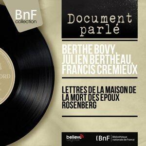 Berthe Bovy, Julien Bertheau, Francis Crémieux 歌手頭像