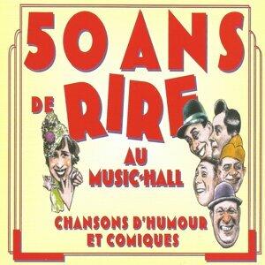 Ray Ventura, Fred Adison, Jacques Hélian 歌手頭像