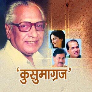 Ravindra Sathe, Rahul Ghorpade, Anuradha Kuber, Madhura Datar, Devaki Pandit, Suresh Wadkar 歌手頭像