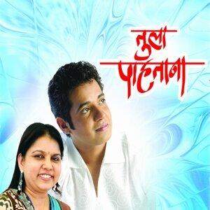 Swapnil Bandodkar, Sadhana Sargam 歌手頭像