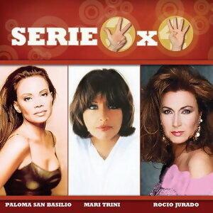 Serie 3x4 (Rocio Jurado, Paloma San Basilio, Mari Trini) 歌手頭像
