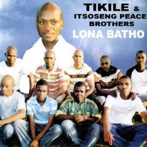Tikile & Itsoseng Peace Brothers アーティスト写真