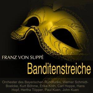 Orchester des Bayerischen Rundfunks, Werner Schmidt-Boelcke, Kurt Böhme, Erika Köth, Carl Hoppe, Hans Hopf, Hertha Töpper, Paul Kuen, John Kuen 歌手頭像