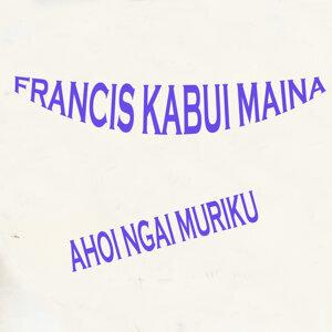 Francis Kabui Maina アーティスト写真
