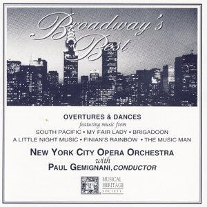New York City Opera Orchestra, Paul Gemignani アーティスト写真